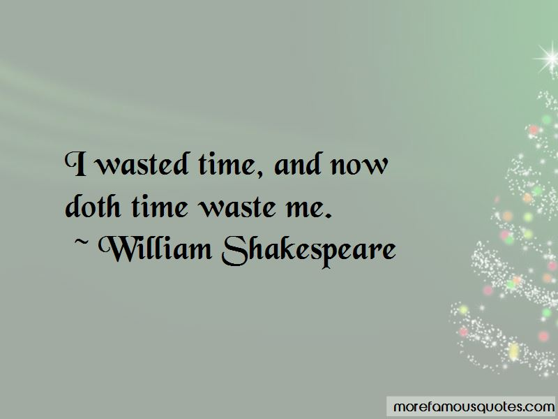 Time Waste Quotes Pictures 2