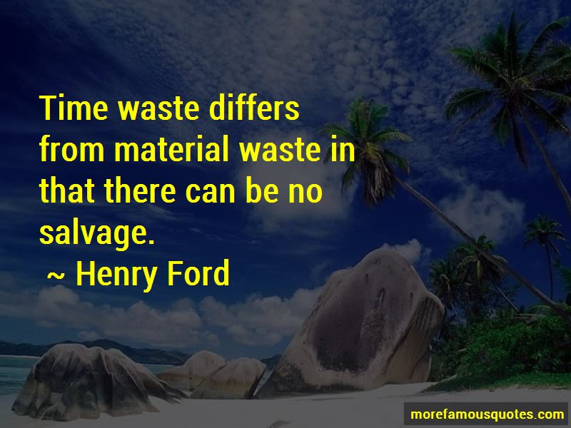 Time Waste Quotes Pictures 3
