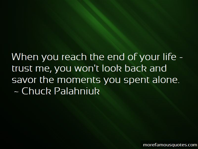 Won't Look Back Quotes