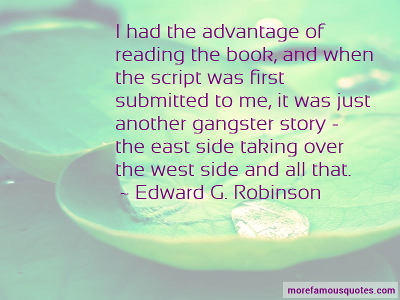 advantages of reading There are a lot of benefits of reading but here are a few: it expands your vocabulary it improves your spelling.
