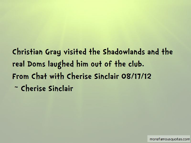 Club Shadowlands Quotes