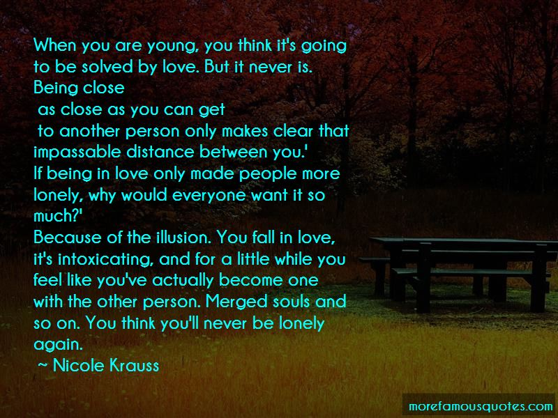 Feel Lonely Love Quotes