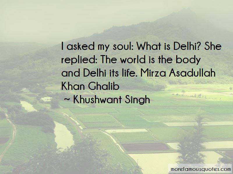 Ghalib Mirza Quotes