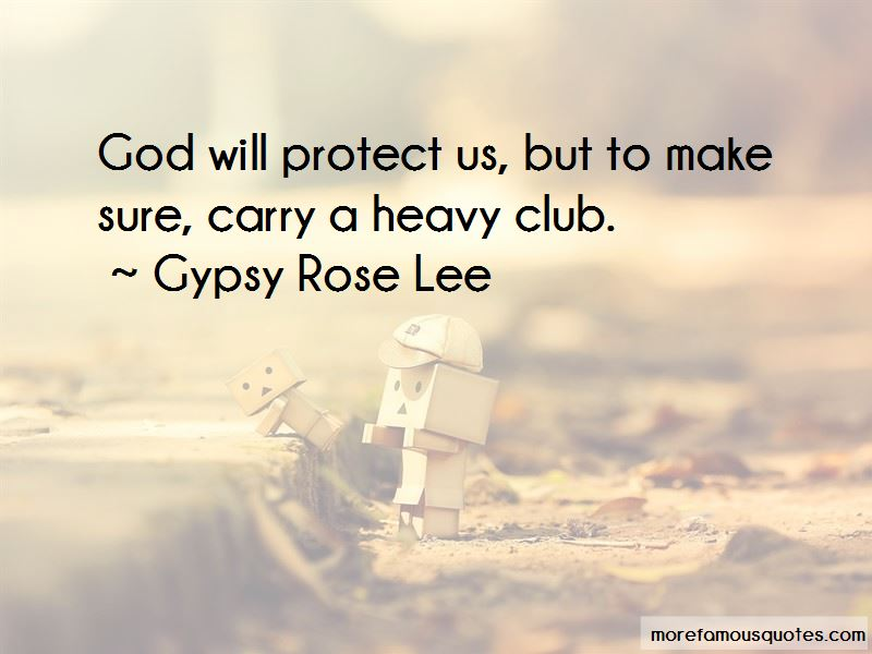 God Will Protect Us Quotes