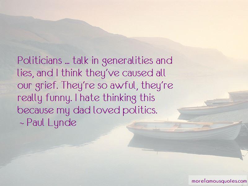 I Hate Politics Funny Quotes