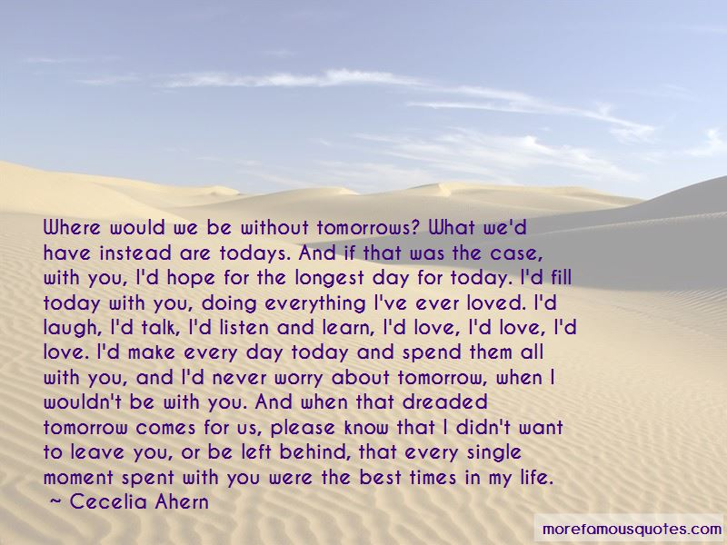 If Tomorrow Never Comes Love Quotes Pictures 4