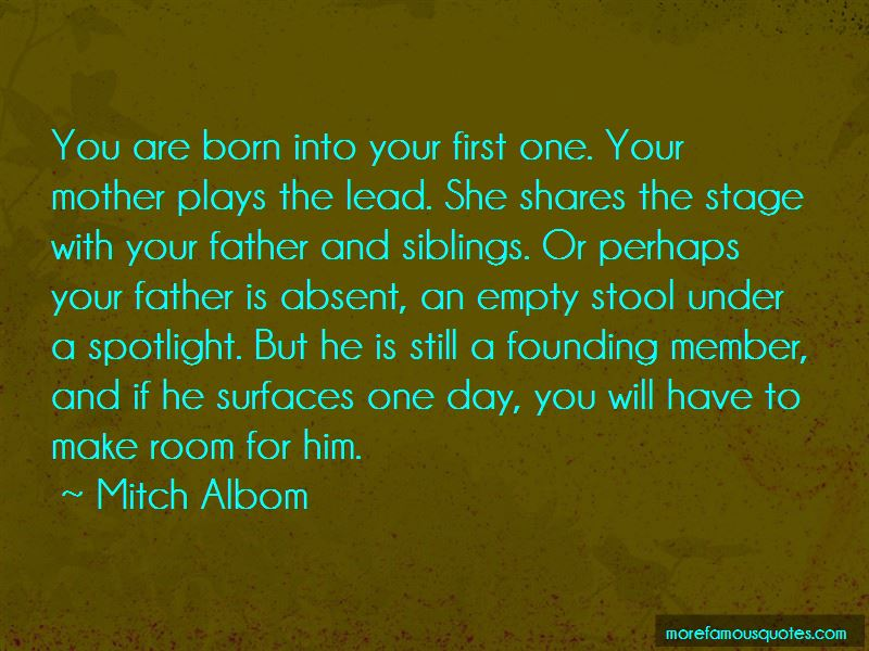 My Absent Father Quotes