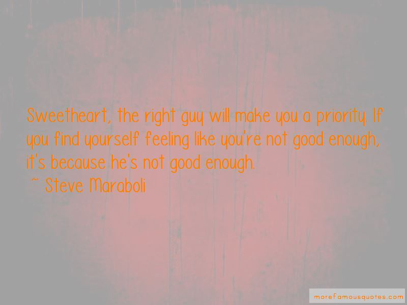 Not Good Enough Feeling Quotes