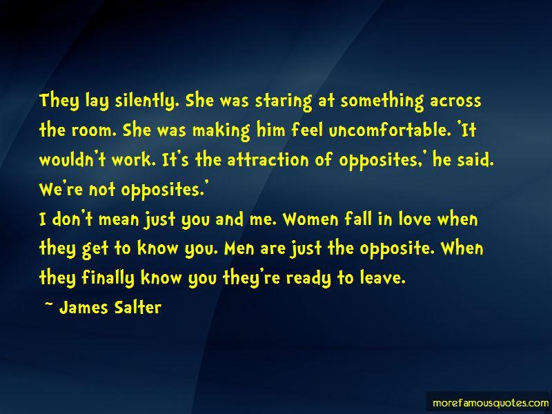 Opposite Attraction Love Quotes. U201c