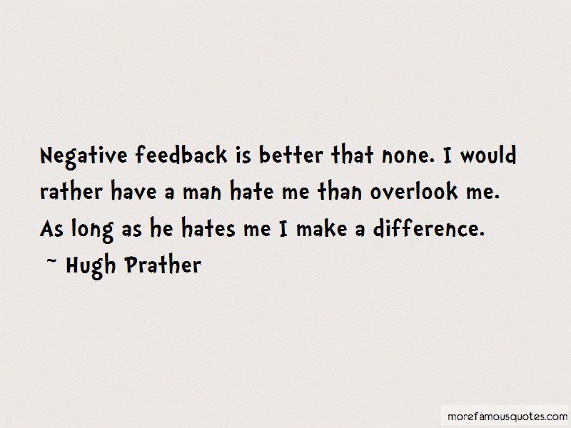 Overlook Me Quotes
