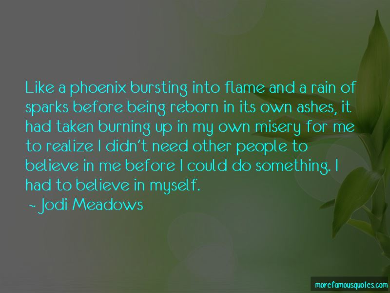 Phoenix Reborn From Ashes Quotes
