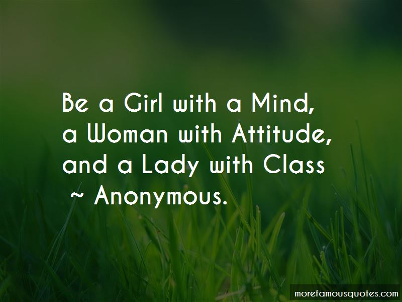 Quotes About A Lady With Class: top 6 A Lady With Class ...