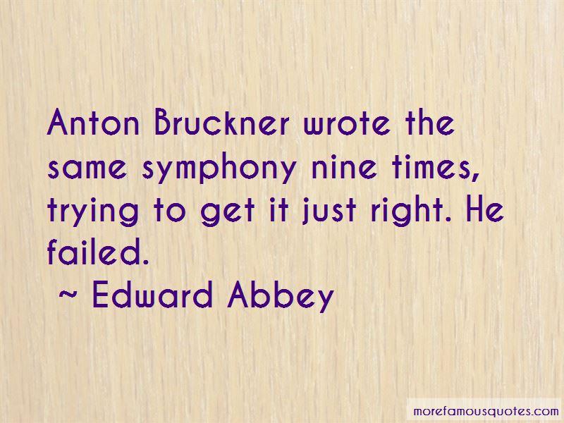 Quotes About Anton Bruckner