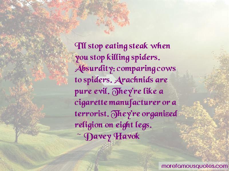 Quotes About Arachnids