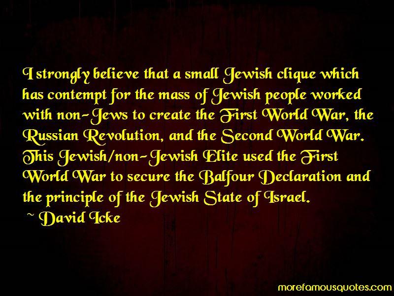 Quotes About Balfour Declaration