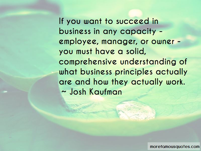 Business Principles Quotes Pictures 2