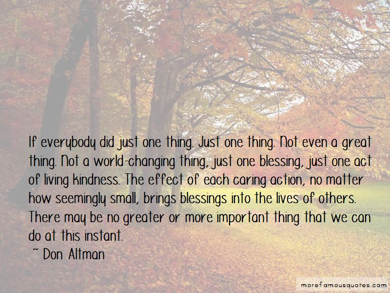 Changing Lives Of Others Quotes Pictures 4