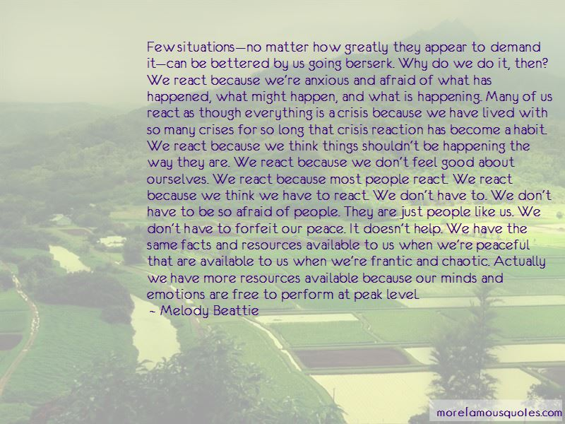 Quotes About Chaotic Situations