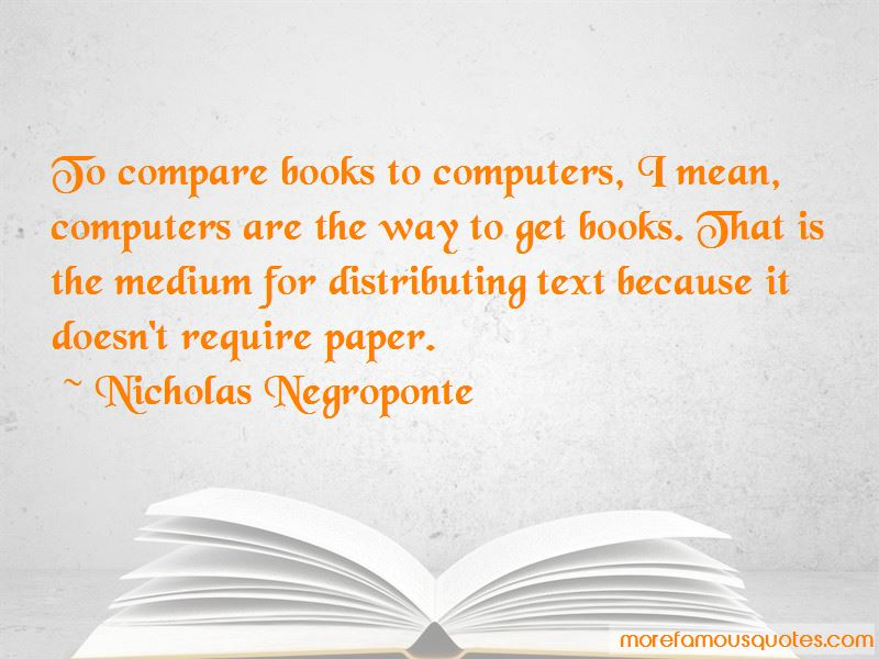 Quotes About Computers And Books
