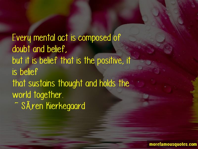 Quotes About Doubt And Belief