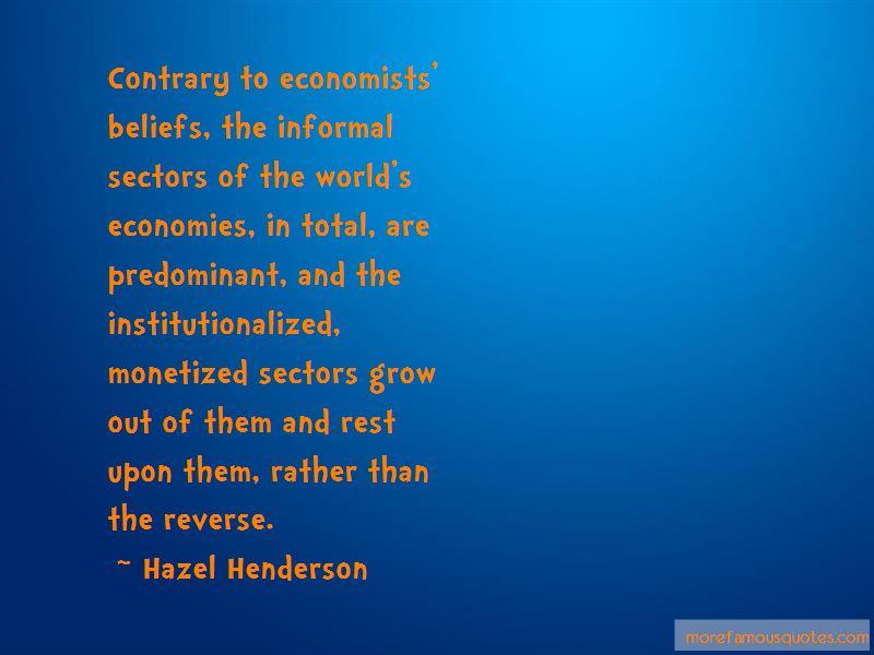 Quotes About Economies
