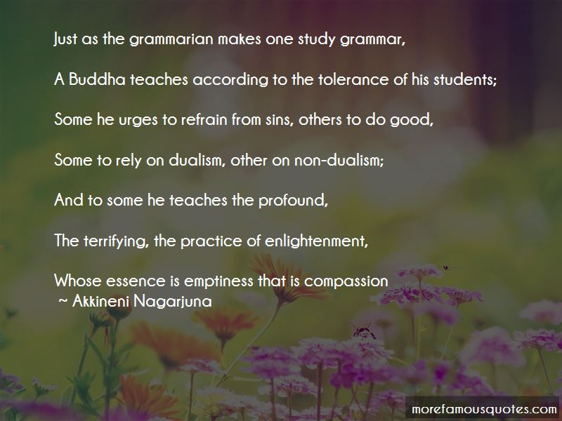 Quotes About Emptiness Buddha