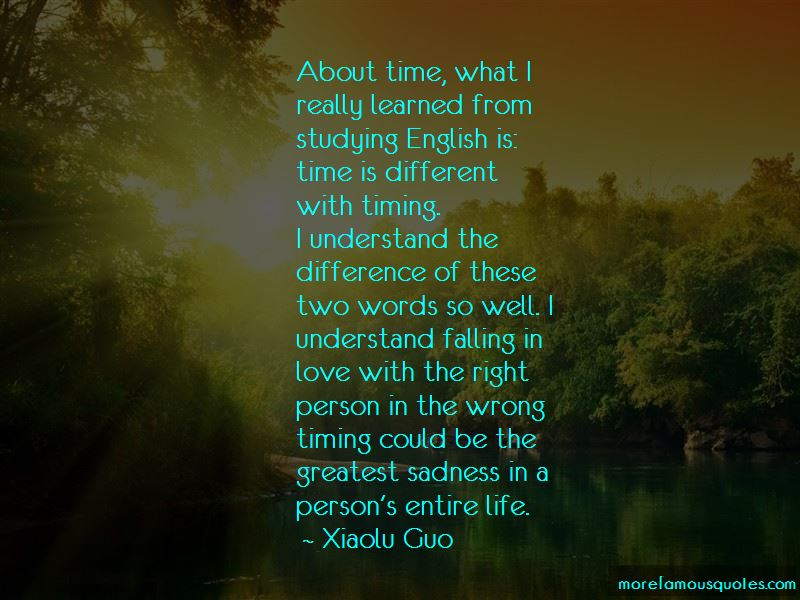 Quotes About Falling In Love With The Right Person At The