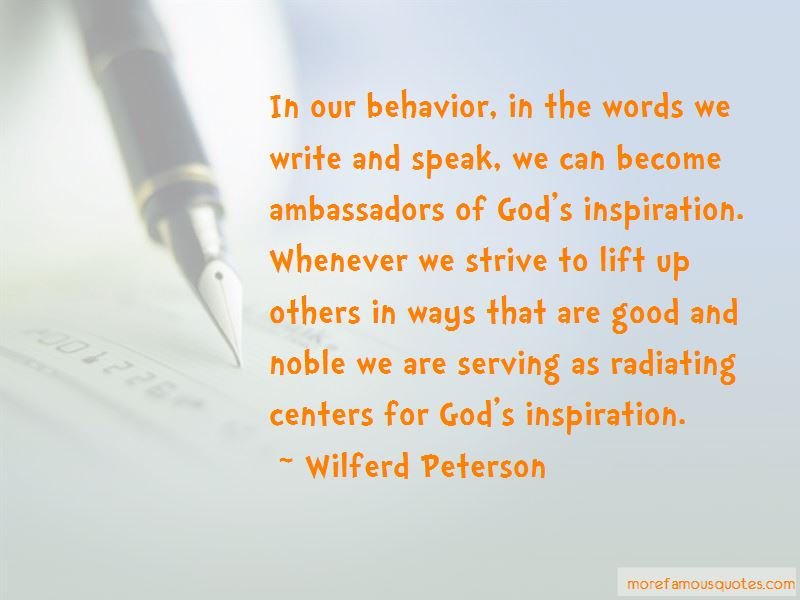 Good Ambassadors Quotes Pictures 3