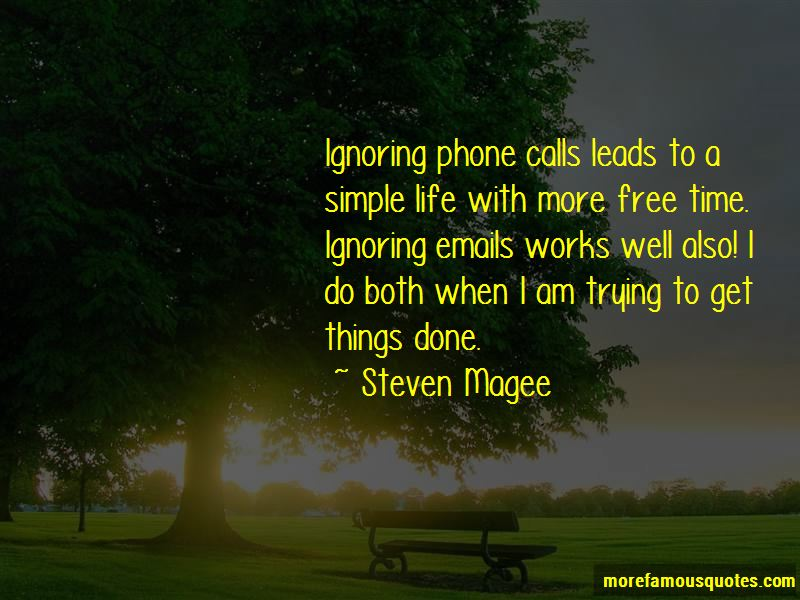 Quotes About Ignoring Emails