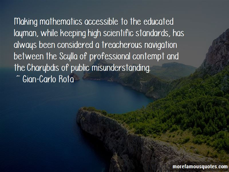 Quotes About Keeping High Standards