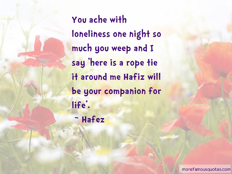 Quotes About Life Hafiz