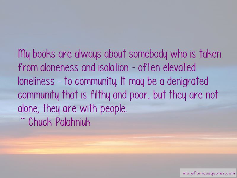 Quotes About Loneliness From Books