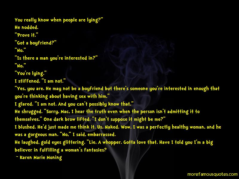 Lying To The Person You Love Quotes Pictures 3