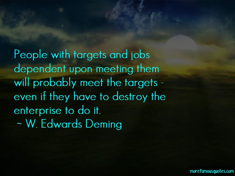 Quotes About Meeting Targets