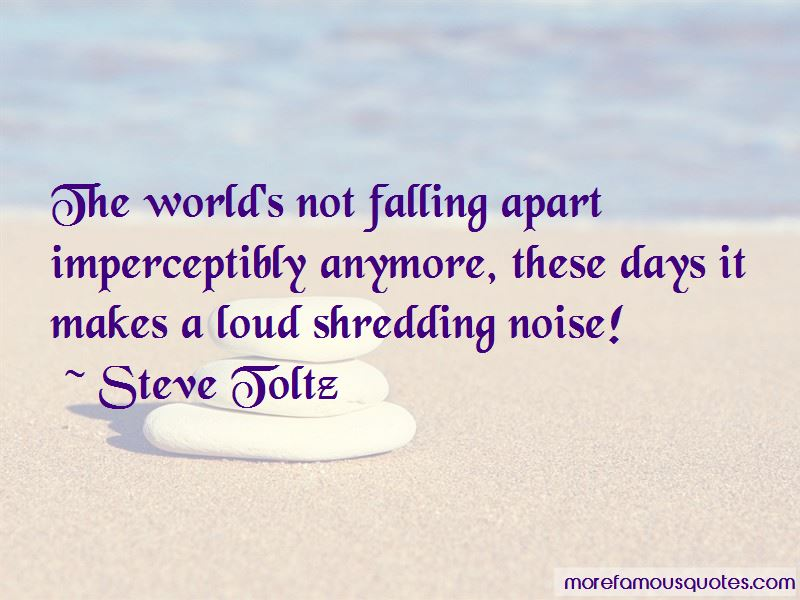 Quotes About Not Falling Apart