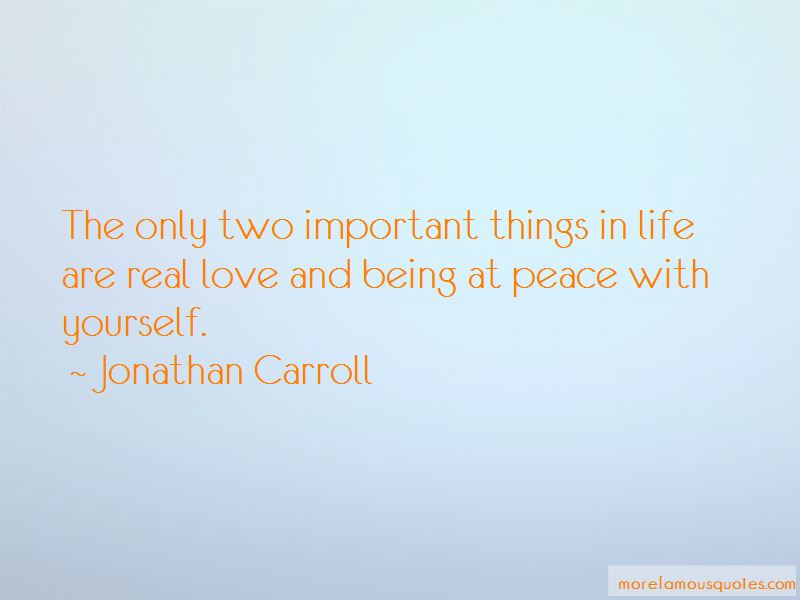 Quotes About Peace With Yourself