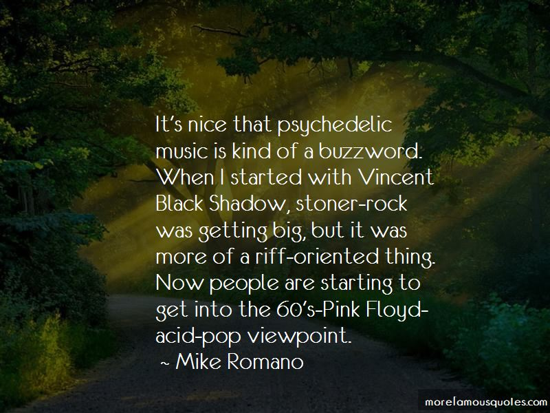 Quotes About Psychedelic Music