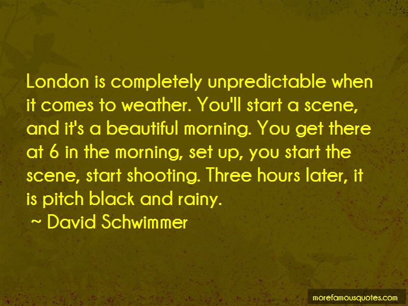 Quotes About Rainy London