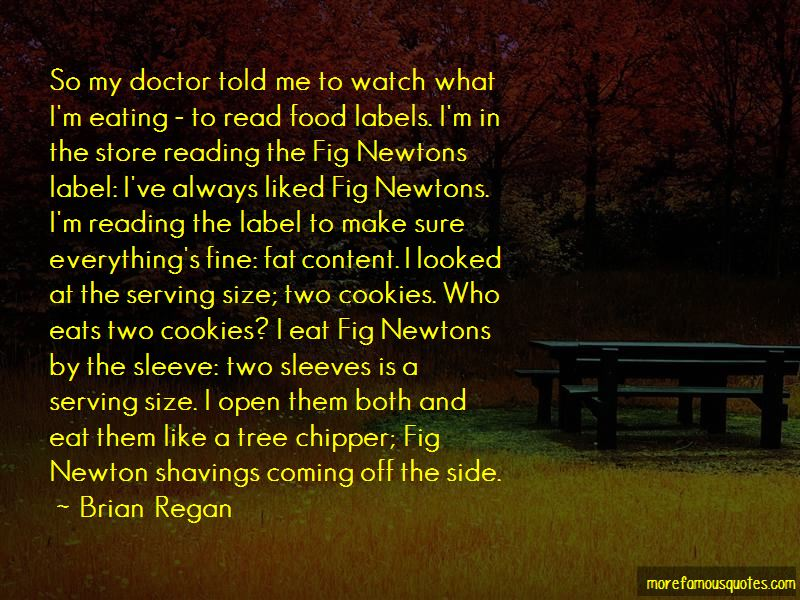 Quotes About Reading Food Labels