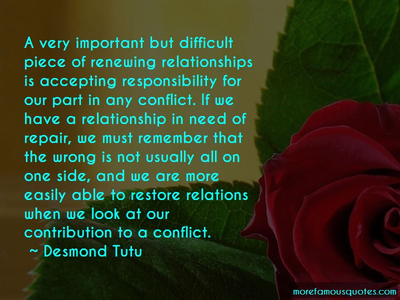 Quotes About Renewing Relationships