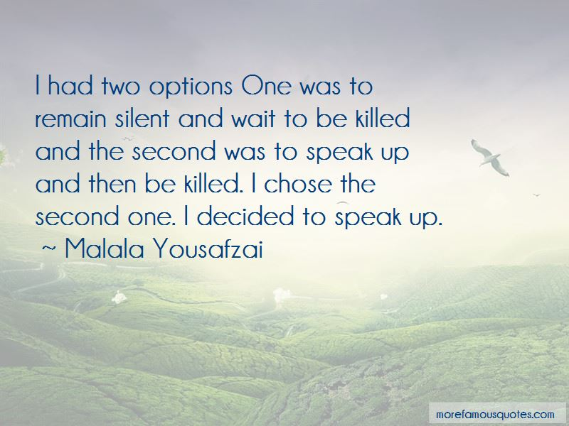 Second Options Quotes Pictures 2