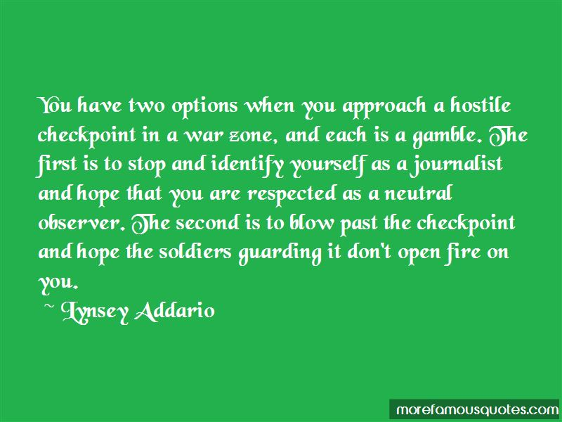 Second Options Quotes Pictures 3