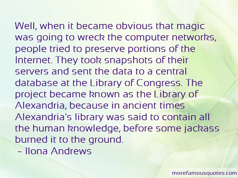 Quotes About The Library Of Alexandria