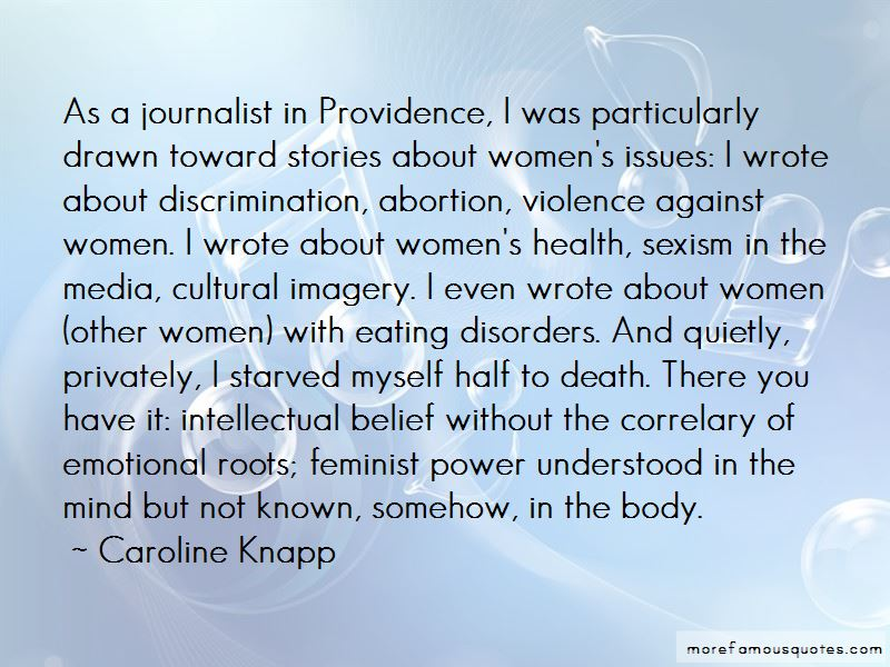 Quotes About The Media And Eating Disorders
