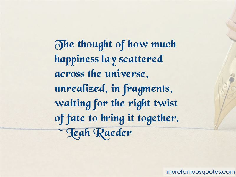 Quotes About Twist Of Fate