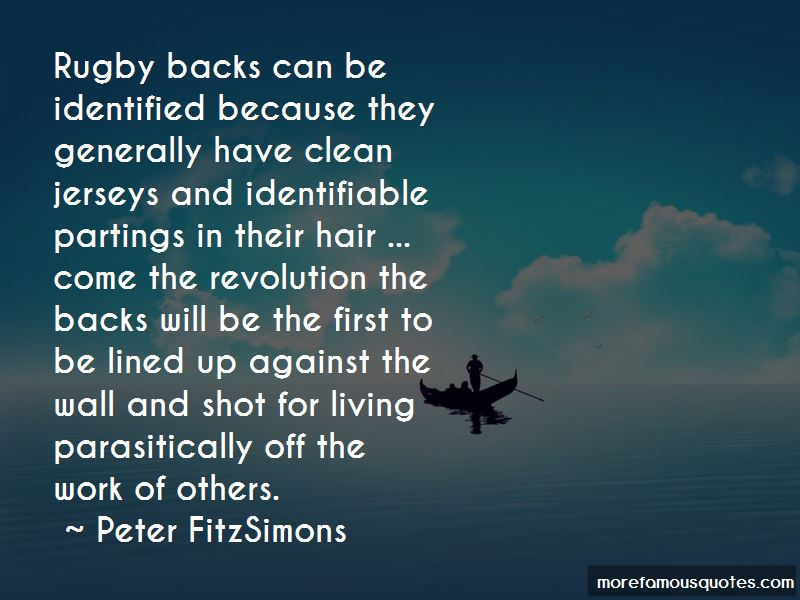 Rugby Backs Quotes