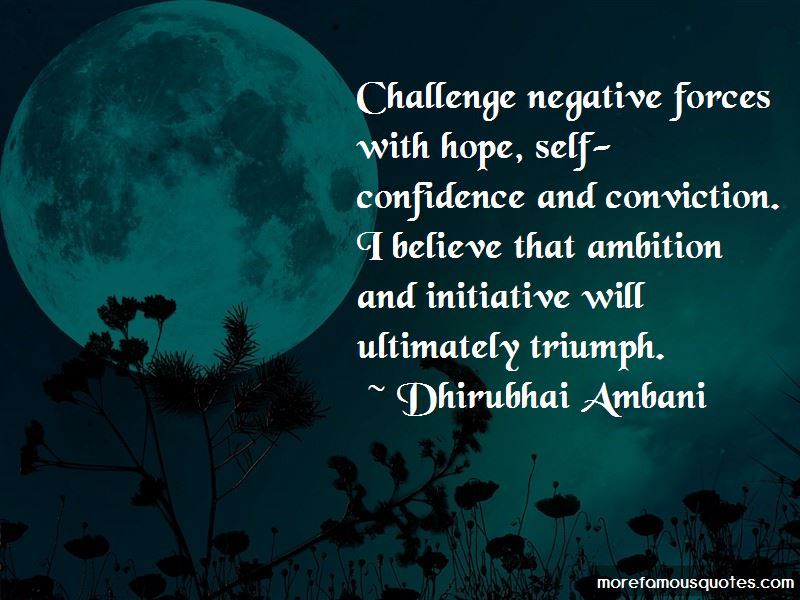 Ambition And Confidence Quotes Pictures 3
