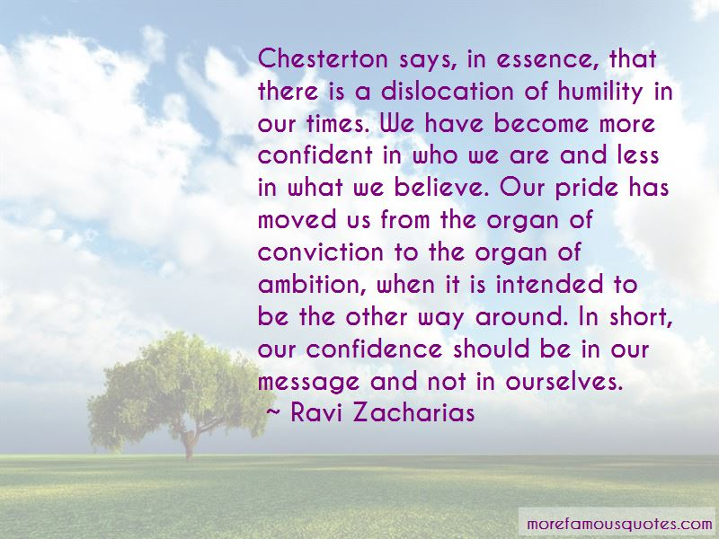 Ambition And Confidence Quotes