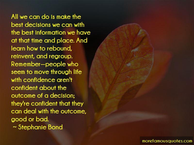 Best Life Decision Quotes