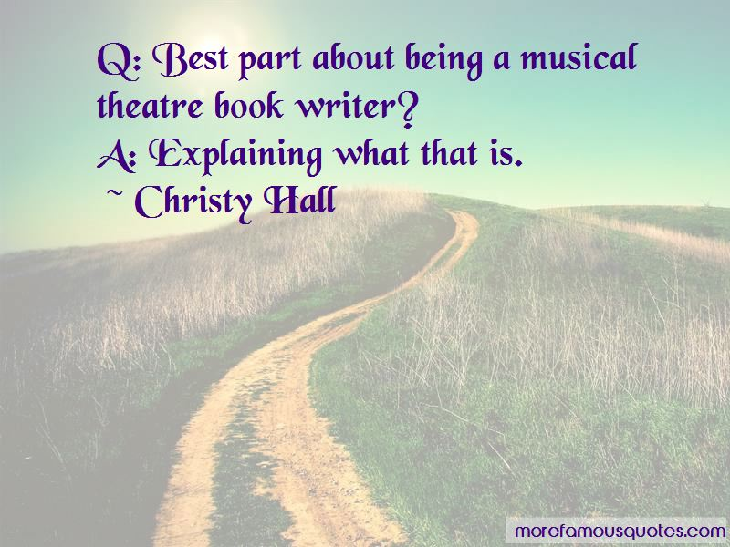 Best Musical Theatre Quotes Pictures 2